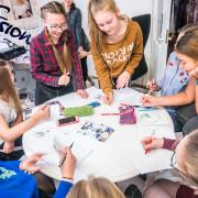 tydrukute kool tunnid at Stiili ja Meigikool (4 of 9) copy